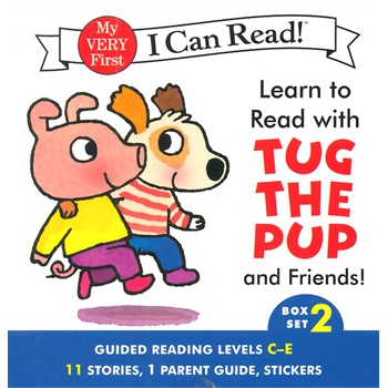 【英文原版】Learn to Read with Tug the Pup and Friends!#2 (I Can Read)小狗和朋友们