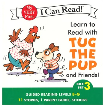 《【英文原版】Learn to Read with Tug the Pup and Friends!#3 (I Can Read)小狗和朋友们》封面
